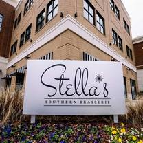 photo of stella's southern brasserie - greenville restaurant