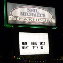 photo of neil michael's steakhouse restaurant