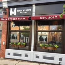photo of main street social restaurant