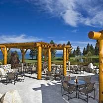 photo of brooks' bar & deck at edgewood tahoe restaurant