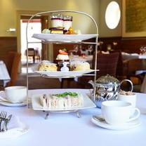 photo of afternoon tea at fig restaurant restaurant