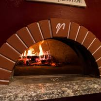 photo of brick wood fired bistro restaurant