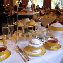 photo of afternoon tea @ lovat hotel restaurant