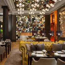 photo of mirror room restaurant