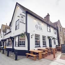 photo of the oak sevenoaks restaurant