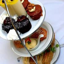 photo of afternoon tea at the orangery restaurant restaurant