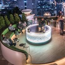 photo of flute, a perrier jouet bar – tower club at lebua state tower restaurant