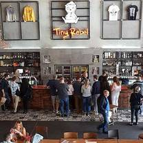 photo of tiny rebel brewery bar restaurant