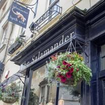 photo of the salamander restaurant