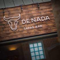 photo of de nada restaurant