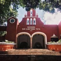 foto de restaurante hacienda teya