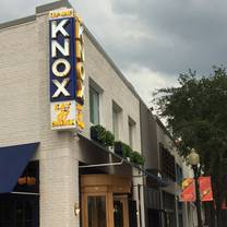 photo of up on knox restaurant