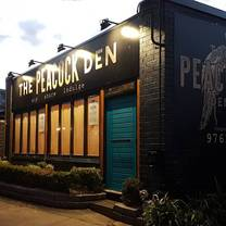 photo of the peacock den restaurant