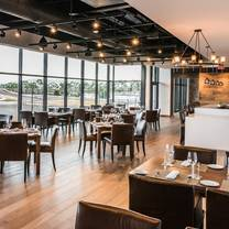 photo of porsche experience center's restaurant 917 restaurant
