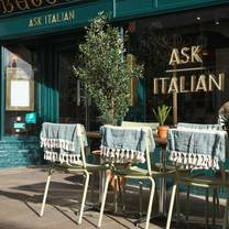 photo of ask italian winchester restaurant