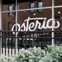 photo of osteria 2350 restaurant