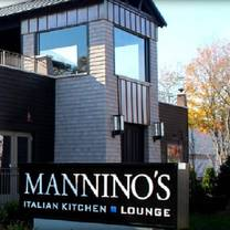 photo of mannino's italian kitchen & lounge restaurant