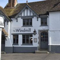 photo of the windmill hollingbourne restaurant