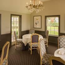 photo of fearrington house restaurant restaurant