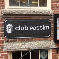 photo of club passim restaurant