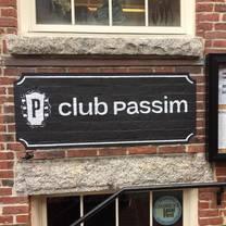 foto von club passim restaurant