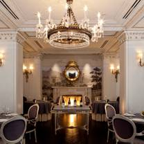 photo of plume at the jefferson hotel restaurant