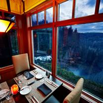 photo of the dining room at salish lodge & spa restaurant