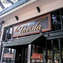 photo of la tavola trattoria restaurant