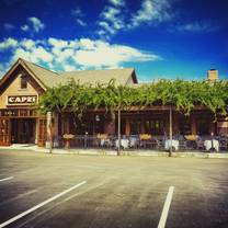 photo of capri italian restaurant - indianapolis restaurant