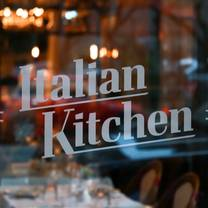 photo of italian kitchen - vancouver restaurant