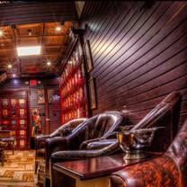 photo of vintage cigar lounge restaurant