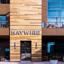 photo of haywire restaurant