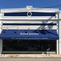 photo of saint james seafood restaurant and raw bar restaurant