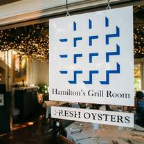 photo of hamilton's grill room restaurant