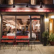photo of petit robert bistro columbus avenue restaurant