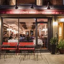 photo of petit robert bistro columbus avenue restaurant