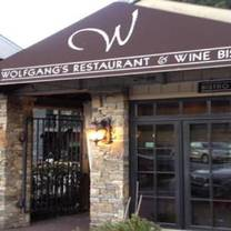 photo of wolfgang's restaurant and wine bistro restaurant