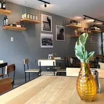 foto de restaurante cervecería de tablas