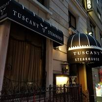 photo of tuscany steakhouse restaurant