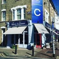photo of ben's canteen restaurant