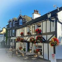 photo of queens head hawkshead restaurant