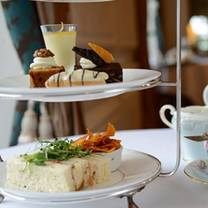 photo of afternoon tea at ston easton park restaurant