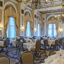 photo of sunday brunch - fairmont hotel macdonald restaurant