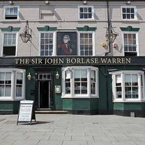 photo of the sir john borlase warren restaurant