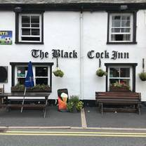 photo of the black cock inn restaurant