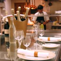 photo of chef's table at holbeck ghyll restaurant