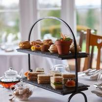 photo of afternoon tea at holbeck ghyll restaurant