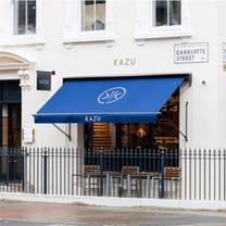 photo of kazu restaurant