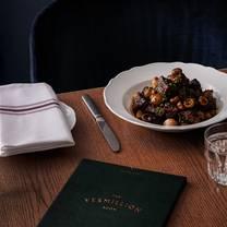 photo of the vermillion room restaurant