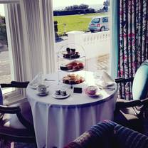 photo of afternoon teas at ocean bleu restaurant